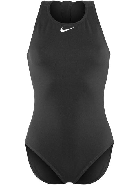Nike Swim Water Polo Solids Bañador Mujer, jet black